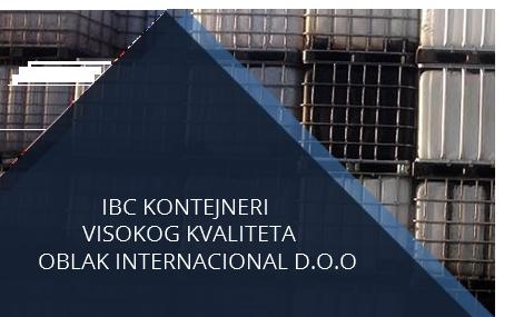 ibc kontejneri, oblak internacional